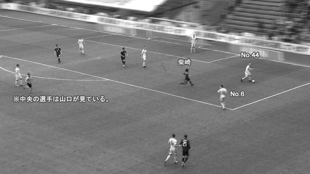 日本対ウクライナ 1失点目(1)