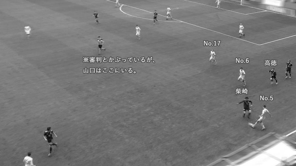 日本対ウクライナ 1失点目(3)
