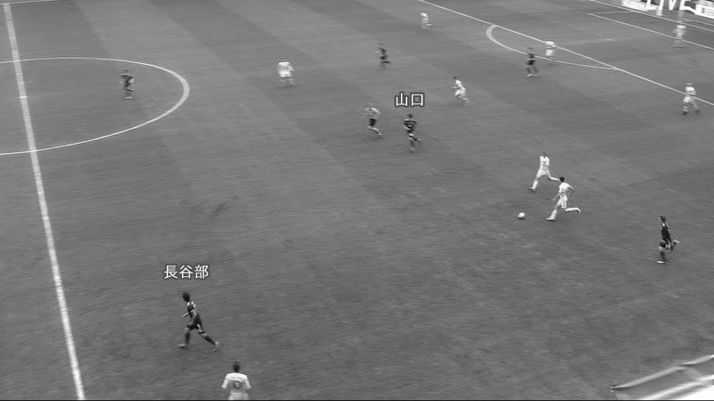 日本対ウクライナ 1失点目(4)