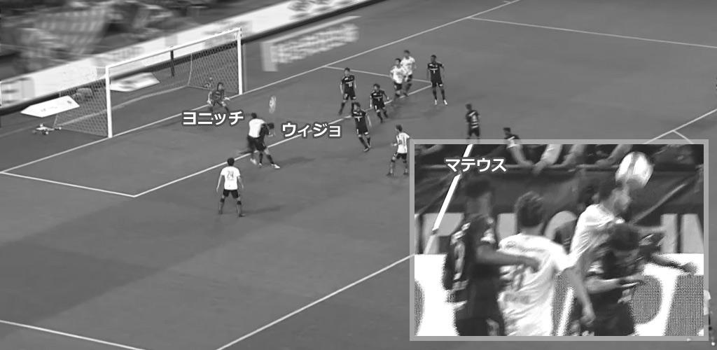 大阪ダービー マテイ・ヨニッチ1