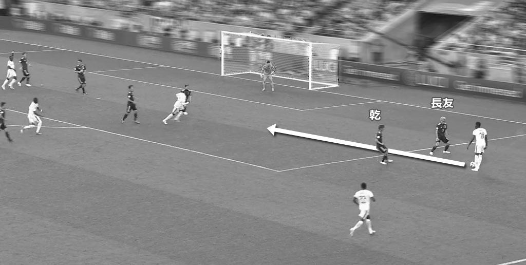 2018FIFAワールドカップ 日本代表 VS セネガル代表 1失点目