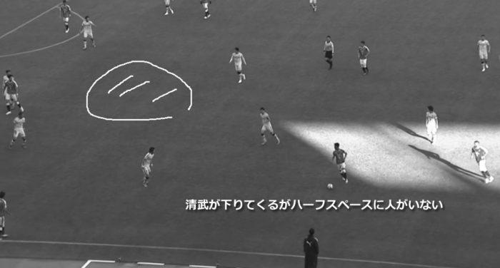 Jリーグ 2018シーズン 33節 セレッソ大阪 柏レイソル 後半56分43秒