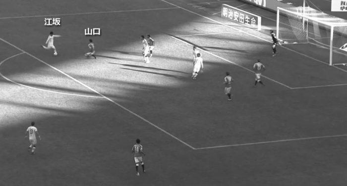 Jリーグ 2018シーズン 33節 セレッソ大阪 柏レイソル 後半12分43秒
