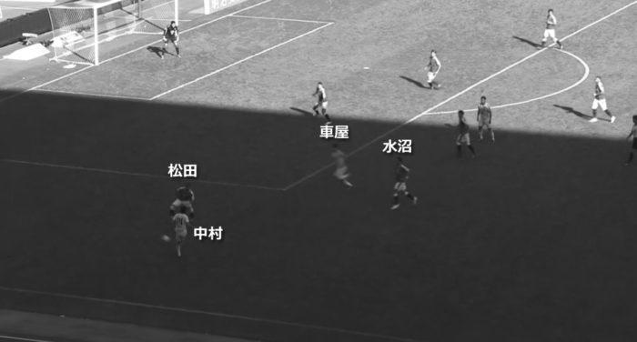 Jリーグ 2018シーズン 32節 セレッソ大阪 川崎フロンターレ 前半4分26秒