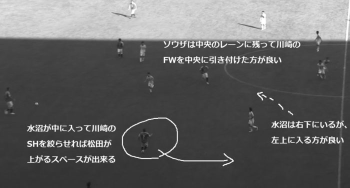 Jリーグ 2018シーズン 32節 セレッソ大阪 川崎フロンターレ 前半30分46秒