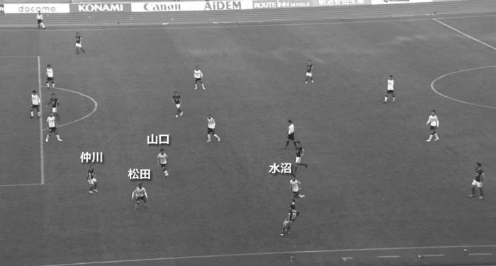 Jリーグ 2018シーズン 34節 横浜Fマリノス セレッソ大阪 後半5分0秒