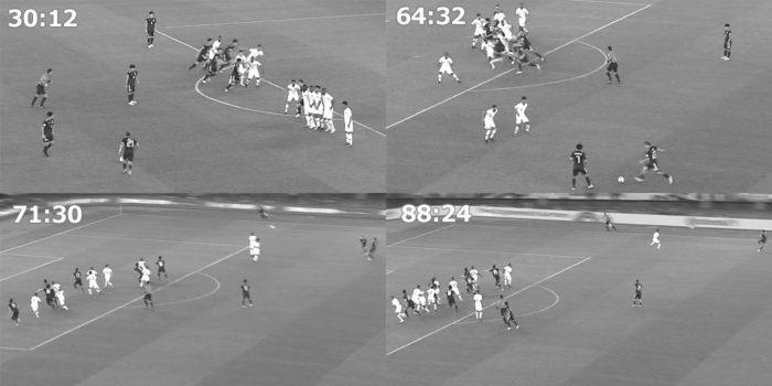 アジアカップ 日本対カタール 日本のFK